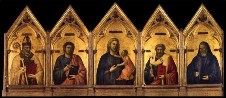 Badia Polyptych, 1301 - 1302 - Giotto