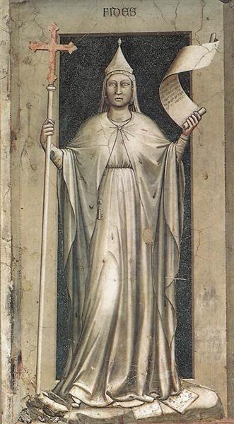 Faith, 1306 - Giotto