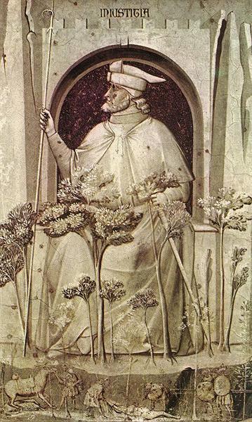 Injustice, 1306 - Giotto