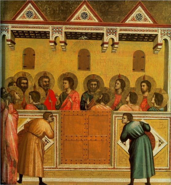 Pentecost, c.1300 - c.1310 - Giotto