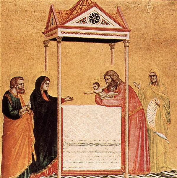 The Presentation of the Infant Jesus in the Temple, c.1320 - Giotto