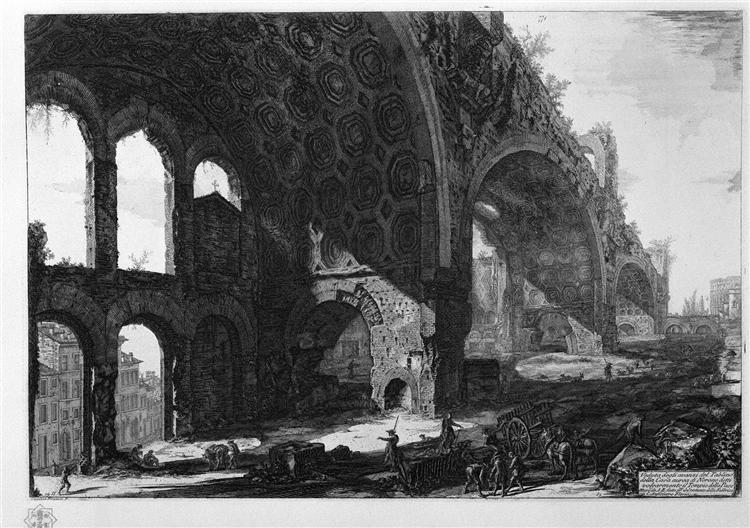 Another view of the same scrap - Giovanni Battista Piranesi