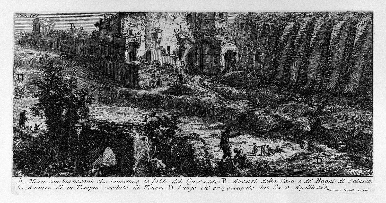 The Roman antiquities, t. 1, Plate XVI, 1756