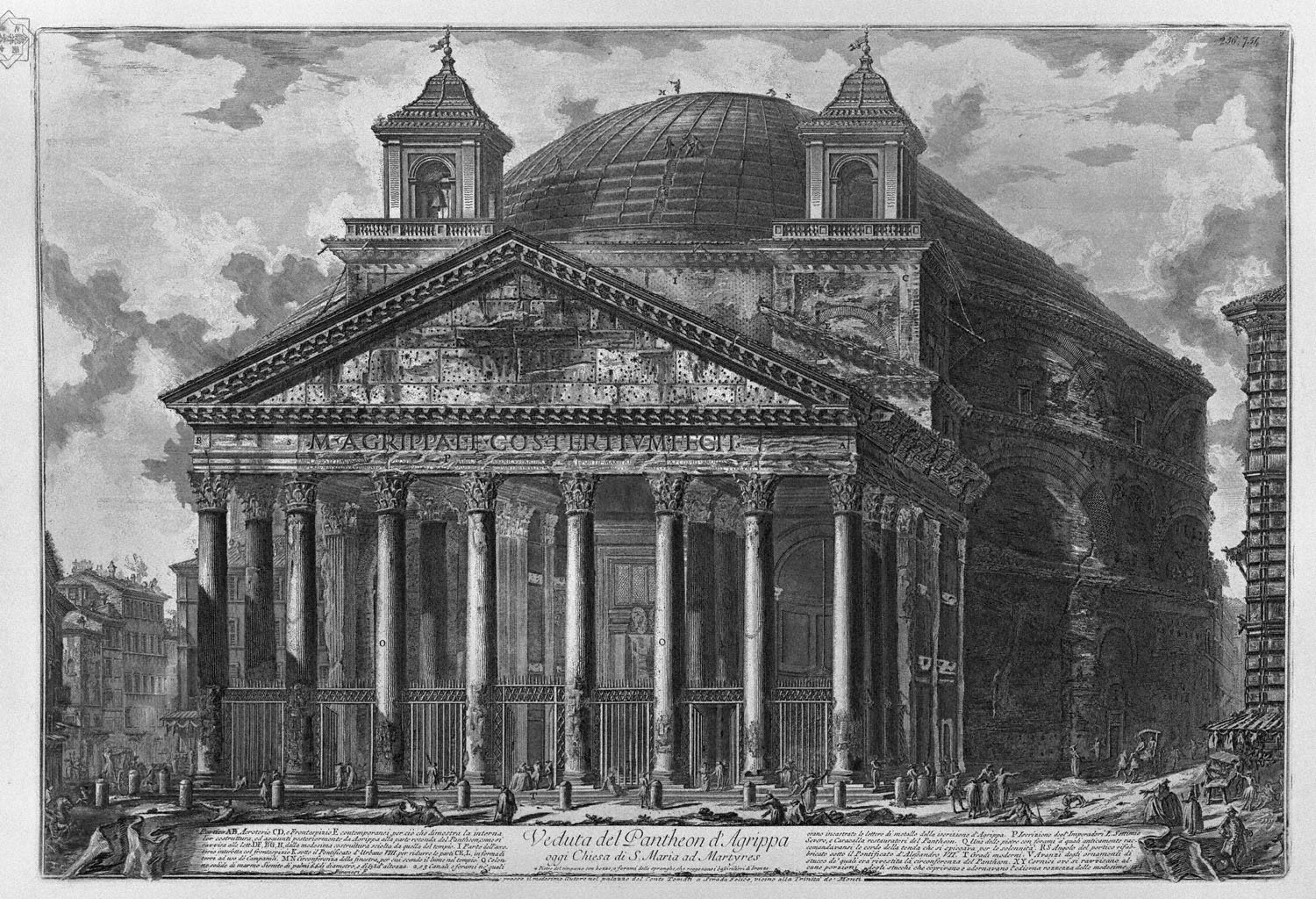 the pantheon The pantheon, one of rome's most iconic structures, has stood tall over what is now known as the city's centro storico for nearly 2000 years below, a few things you might not know about the .