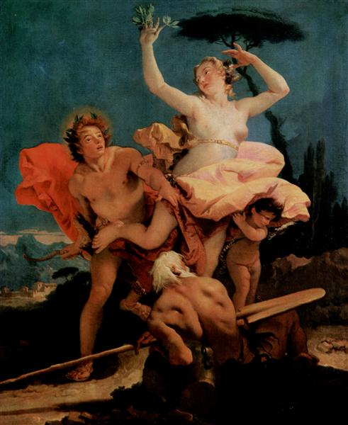 Apollo and Daphne, 1743 - 1744 - Giovanni Battista Tiepolo