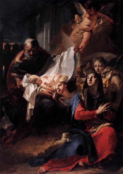 Nativity, 1732 - Giovanni Battista Tiepolo