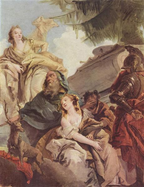 Sacrifice of Iphigenia - Giovanni Battista Tiepolo