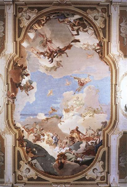 The Apotheosis of the Pisani Family, 1761 - 1762 - Giovanni Battista Tiepolo