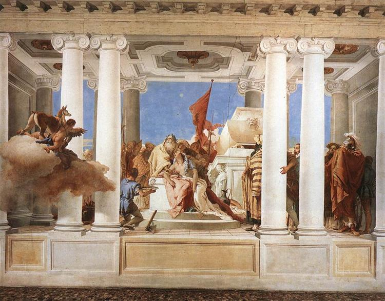 The Sacrifice of Iphigenia, 1757 - Giovanni Battista Tiepolo