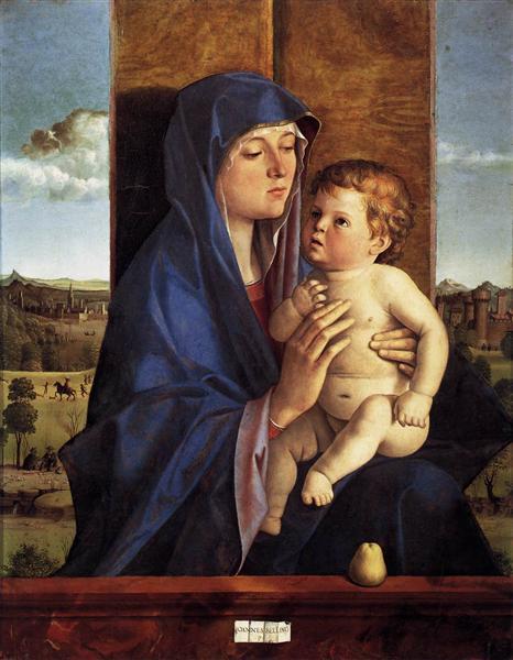 Madonna and Child, 1480 - 1490 - Giovanni Bellini