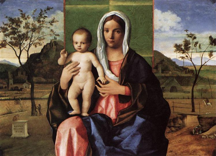 Madonna and Child, 1510 - Giovanni Bellini