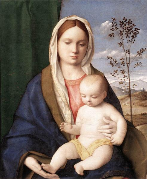 Madonna and child, c.1510 - Giovanni Bellini