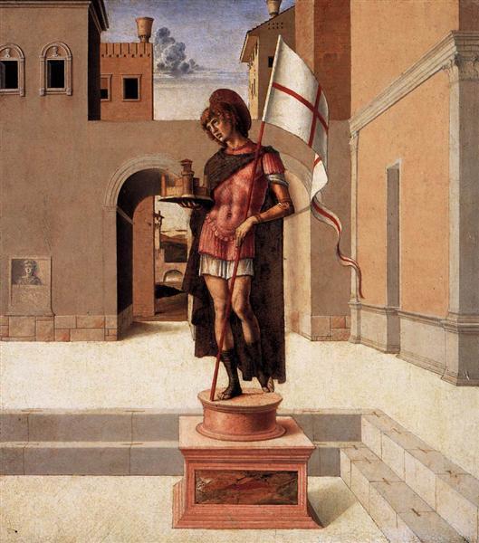 Pesaro Altarpiece (predella), 1471 - 1474 - Giovanni Bellini