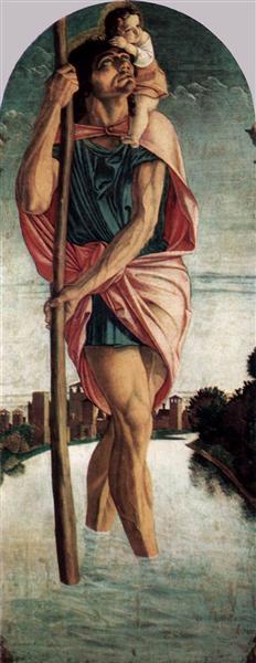 Polyptych of San Vincenzo Ferreri, 1464 - 1468 - Giovanni Bellini