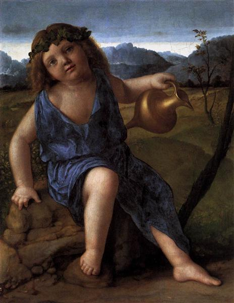 Young Bacchus, c.1514 - Giovanni Bellini