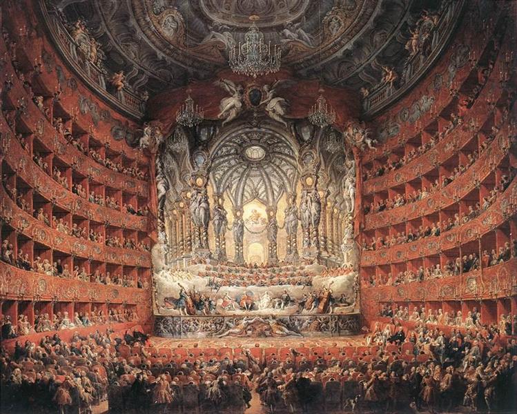 Musical Fête, 1747 - Giovanni Paolo Pannini