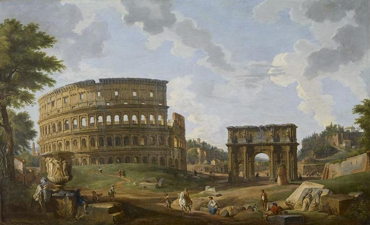 View of the Colosseum, 1747 - Giovanni Paolo Pannini
