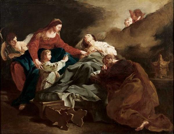 Saint Anne raptures - Giulia Lama