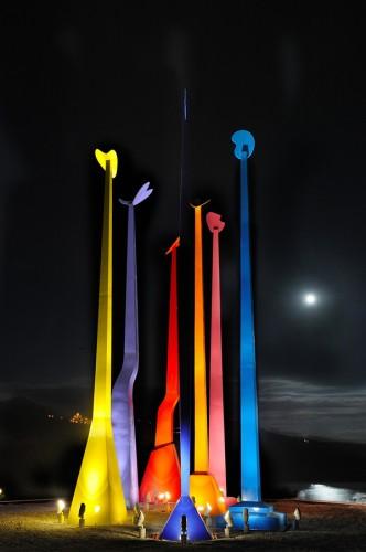Libertà sul Lago di Piediluco notte - Giulio Turcato