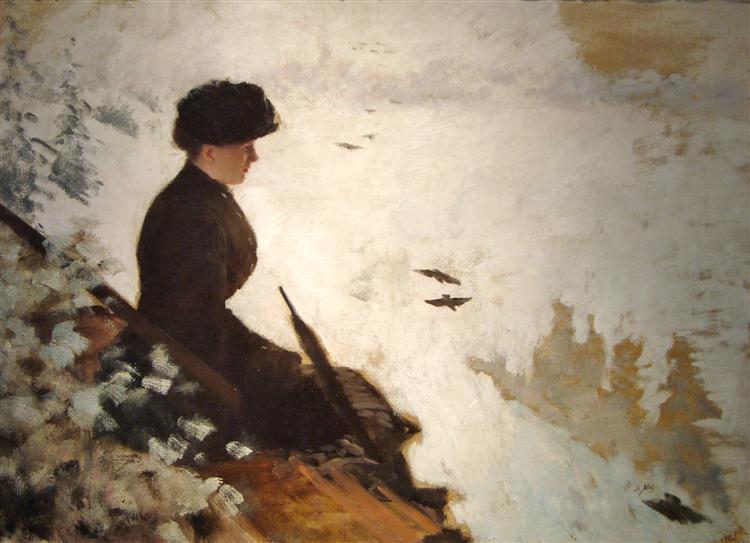 Snow Effect, 1880 - Giuseppe de Nittis