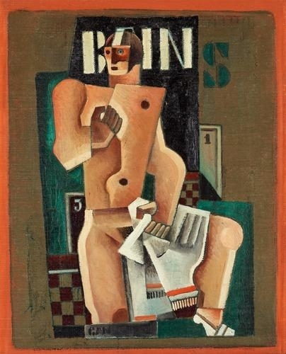Bains, 1923 - Gosta Adrian-Nilsson