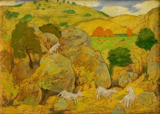 Country Landscape, 1966 - Grégoire Michonze