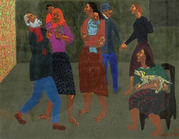 Figures in a Room, 1981 - Grégoire Michonze