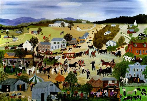 Country Fair - Grandma Moses