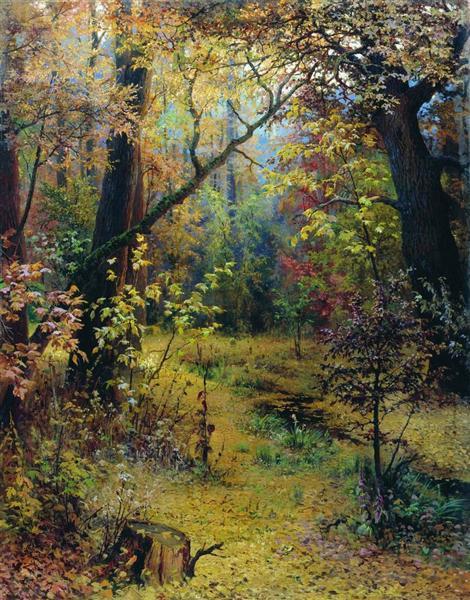 Autumn Morning, 1893 - Grigoriy Myasoyedov