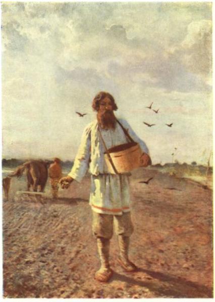 Sower, 1888 - Grigoriy Myasoyedov