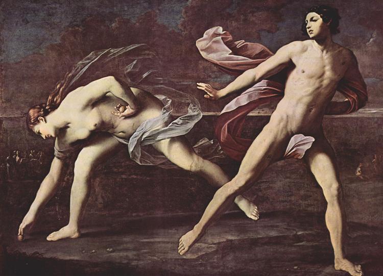Atalanta and Hippomenes, 1615 - 1625 - Guido Reni