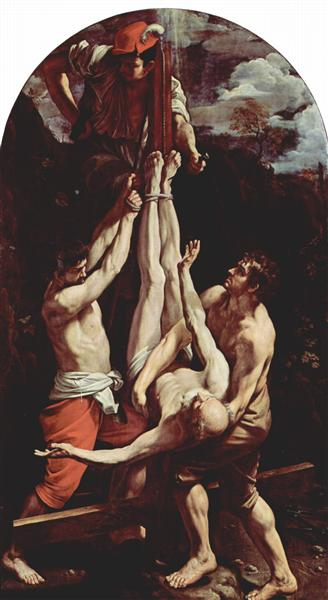 Crucifixion of St. Peter, 1604-1605 - Guido Reni