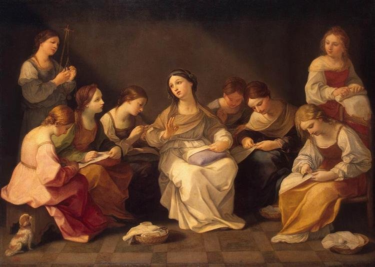 Education of the Virgin, 1640 - 1642 - Guido Reni