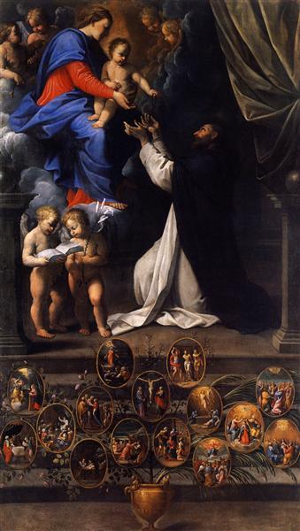 Rosary Madonna - Guido Reni