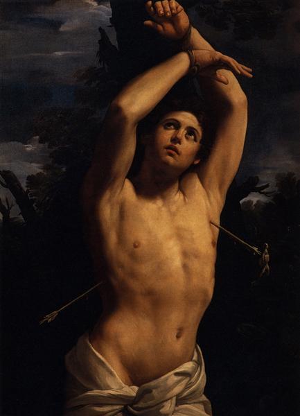 El martirio de San Sebastián - Reni Guido
