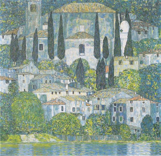 Church in Cassone, 1913 - Gustav Klimt
