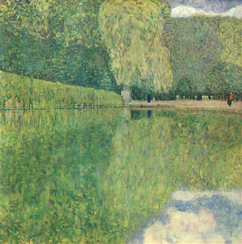 Park of Schönbrunn - Gustav Klimt