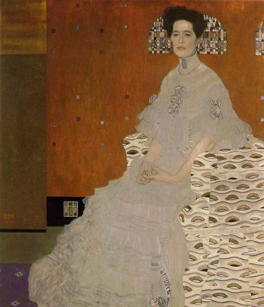 Portrait of Fritza Riedler, 1906 - Густав Клімт
