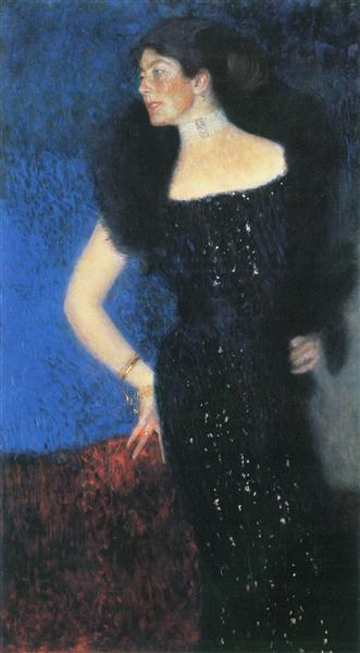 Portrait of Rose von Rosthorn-Friedmann, 1900 - 1901 - Gustav Klimt