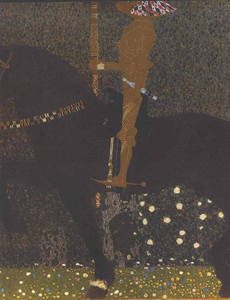 The Golden Knight, 1903 - Gustav Klimt