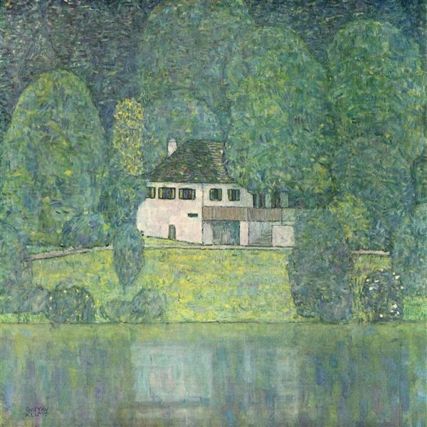 Litzlberg am Attersee, 1915 - Gustav Klimt