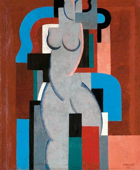 Composition, 1926 - Gustave Buchet