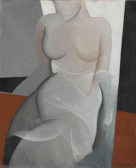 Frauenakt - Gustave Buchet