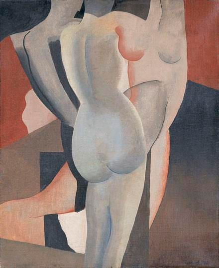 Three Women - Gustave Buchet