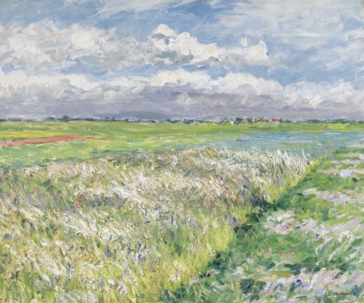 Fields, Plain of Gennevilliers, 1884