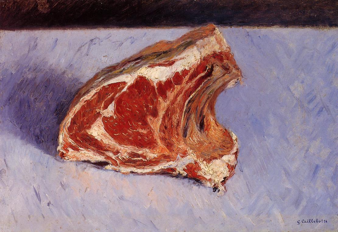 Rib of Beef, 1882