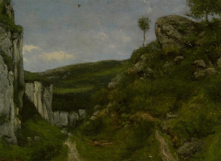 Landscape, 1868 - Gustave Courbet
