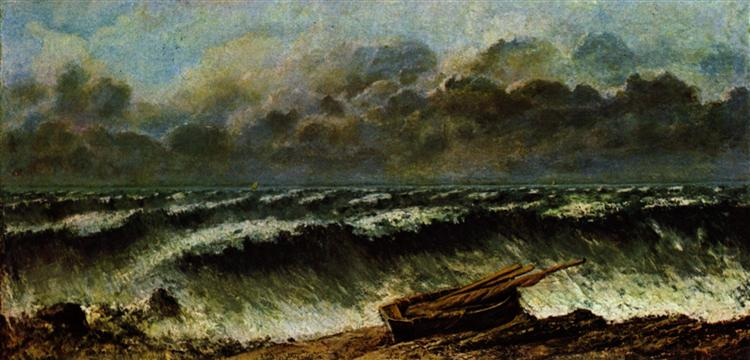The Waves, 1869 - Gustave Courbet