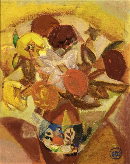 Flowers, 1919 - Густав де Смет