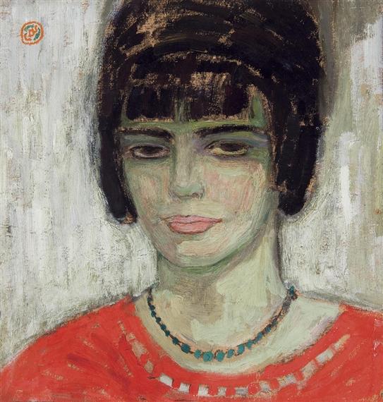 Hoofd Van Een Jonge Vrouw, 1914 - Gustave De Smet